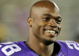 Adrian Peterson lanza coqueteo virtual a los Giants