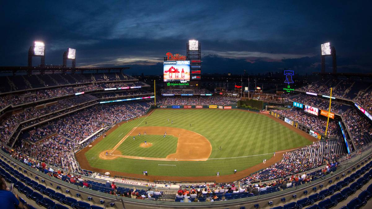 El hogar del Philly Phanatic es el coqueto Citizens Bank Park.
