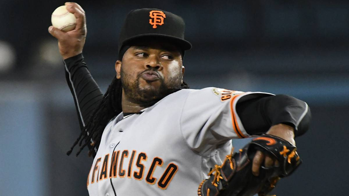 Johnny Cueto estuvo brillante en su primer año con los San Francisco Giants.