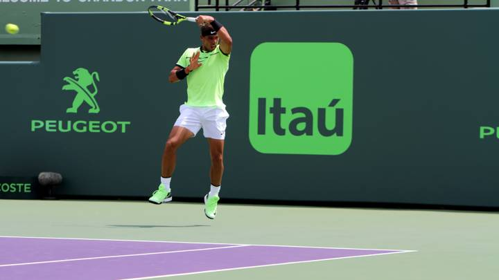 Tenis de altos quilates en Miami