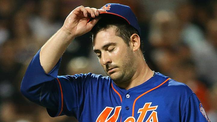 Matt Harvey no pasa por su mejor momento en los New York Mets.