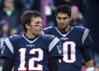 La inevitable decisión entre Tom Brady y Jimmy Garoppolo