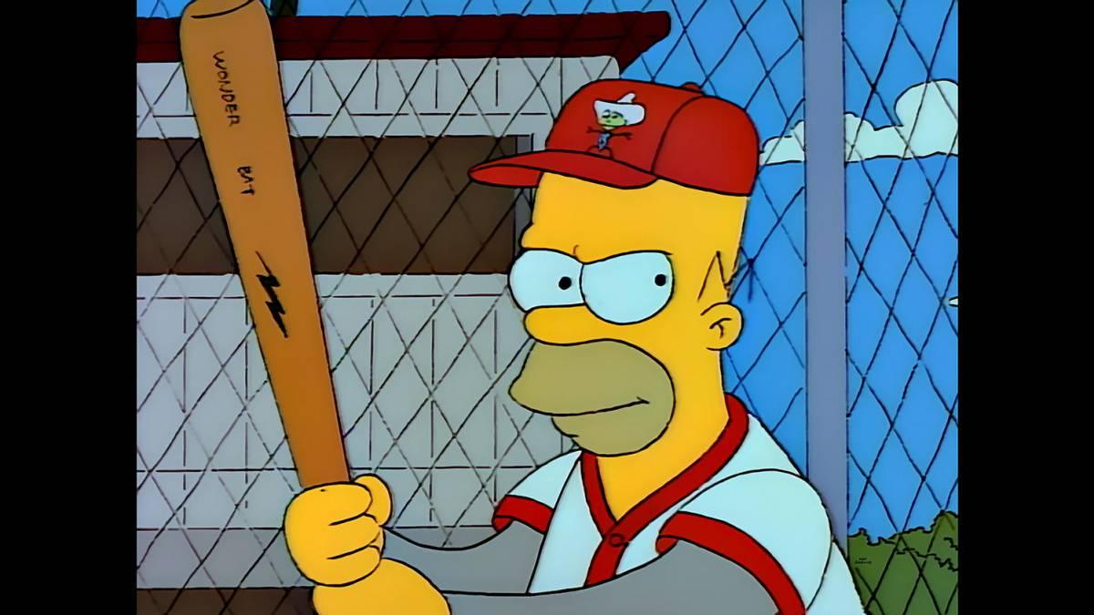 Un 'Simpson' llega al Salón de la Fama de Grandes Ligas