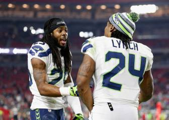 Richard Sherman se imaginó en Patriots con Marshawn Lynch