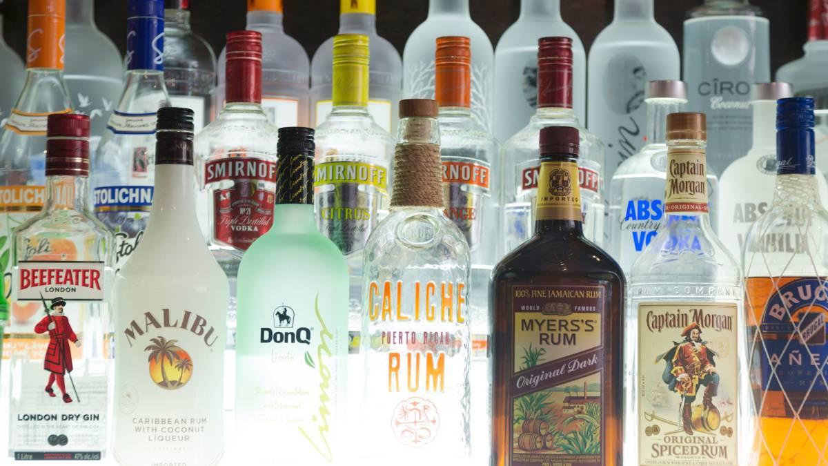 Vodka Mixed Drinks At Bars