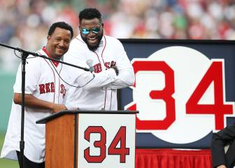 Red Sox retiran el 34 de David Ortiz en emotiva ceremonia