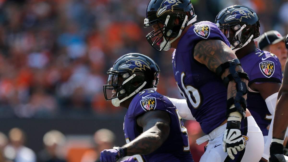 La defensa de los Baltimore Ravens es algo muy serio fe2cf33c2a3