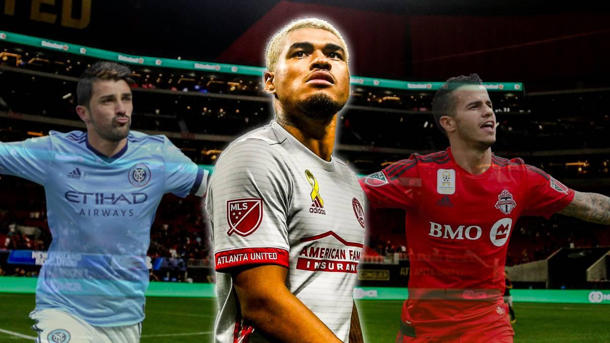 Criollo Josef Martínez sigue rompiendo a goles porterías de la liga estadounidense