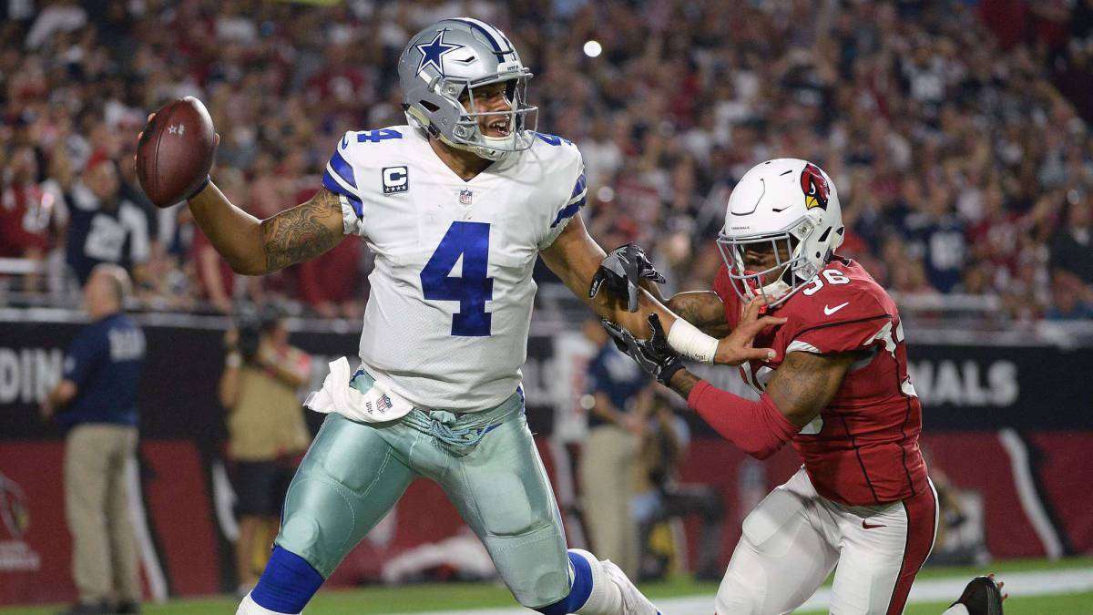Cowboys se unieron para protestar en Monday Night Football