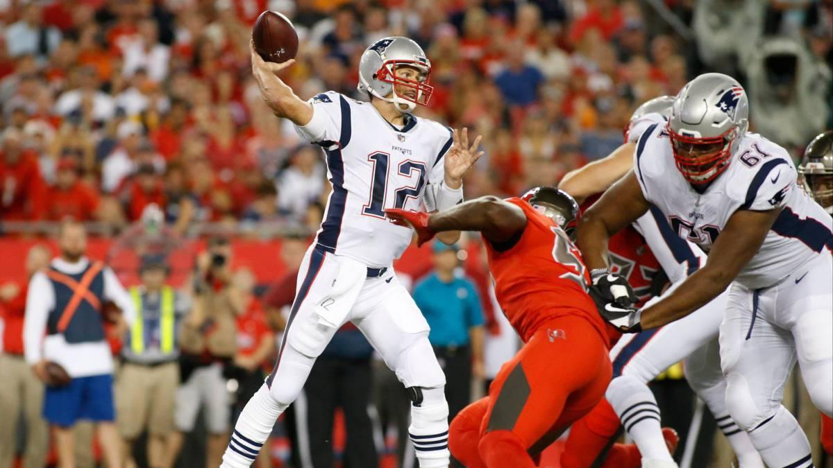 Patriots logra complicada victoria frente a Buccaneers