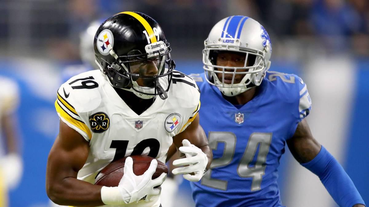 Steelers escapan con la victoria en su visita a Detroit