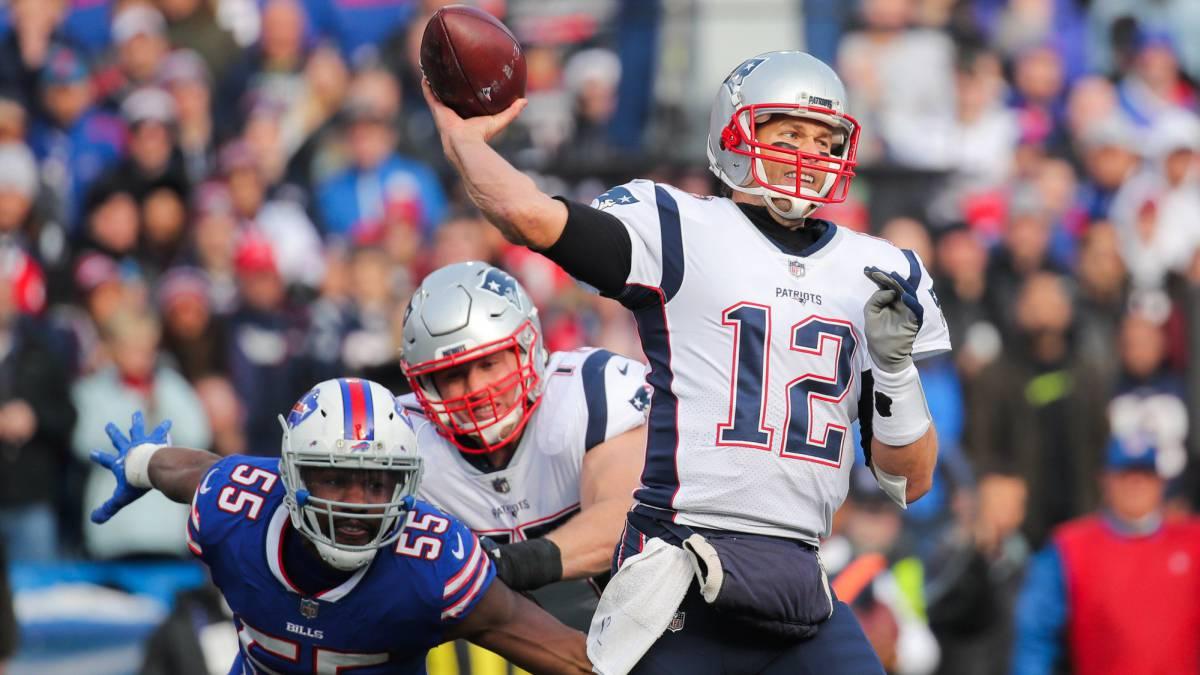 Brady llega a las 65000 yardas áreas en su carrera