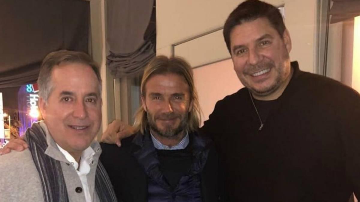 Claure y Beckham presentarán equipo MLS de Miami el lunes