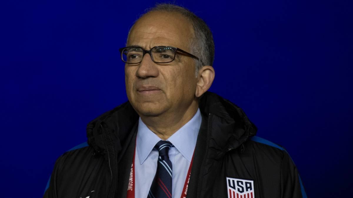 Carlos Cordeiro, primer hispano presidente de la Federación de Fútbol — EEUU