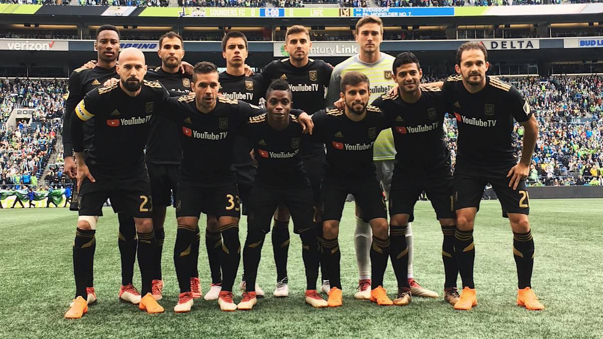 Resultado de imagen para Los Angeles FC  2018