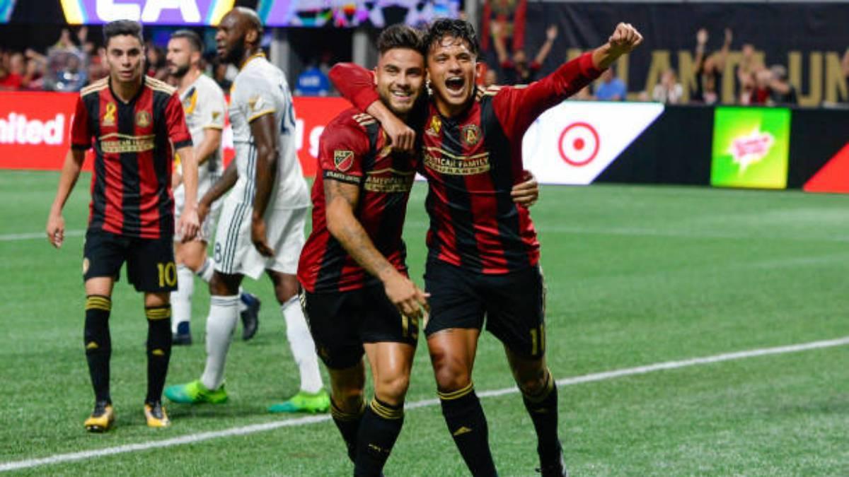 3-1. Martínez, Almirón y Villalba protagonizan primera goleada de Atlanta