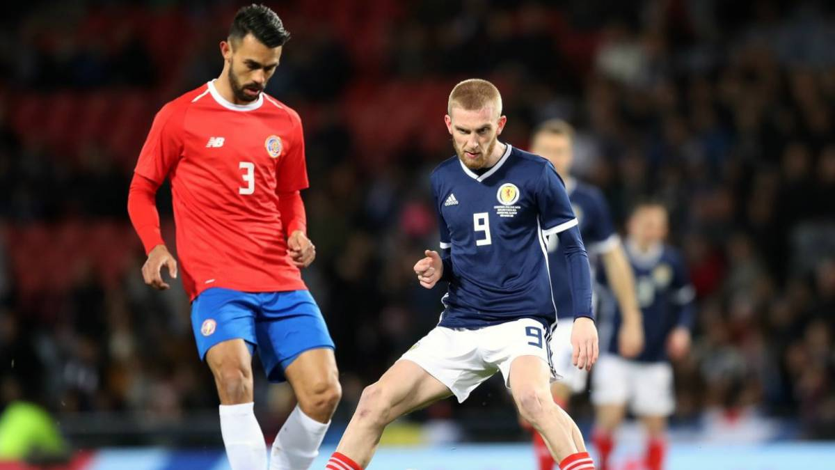 Costa Rica venció a Escocia en amistoso rumbo a Rusia 2018