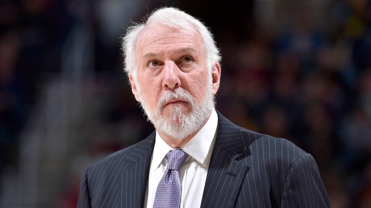 Popovich no estará en cuarto juego entre Spurs y Warriors