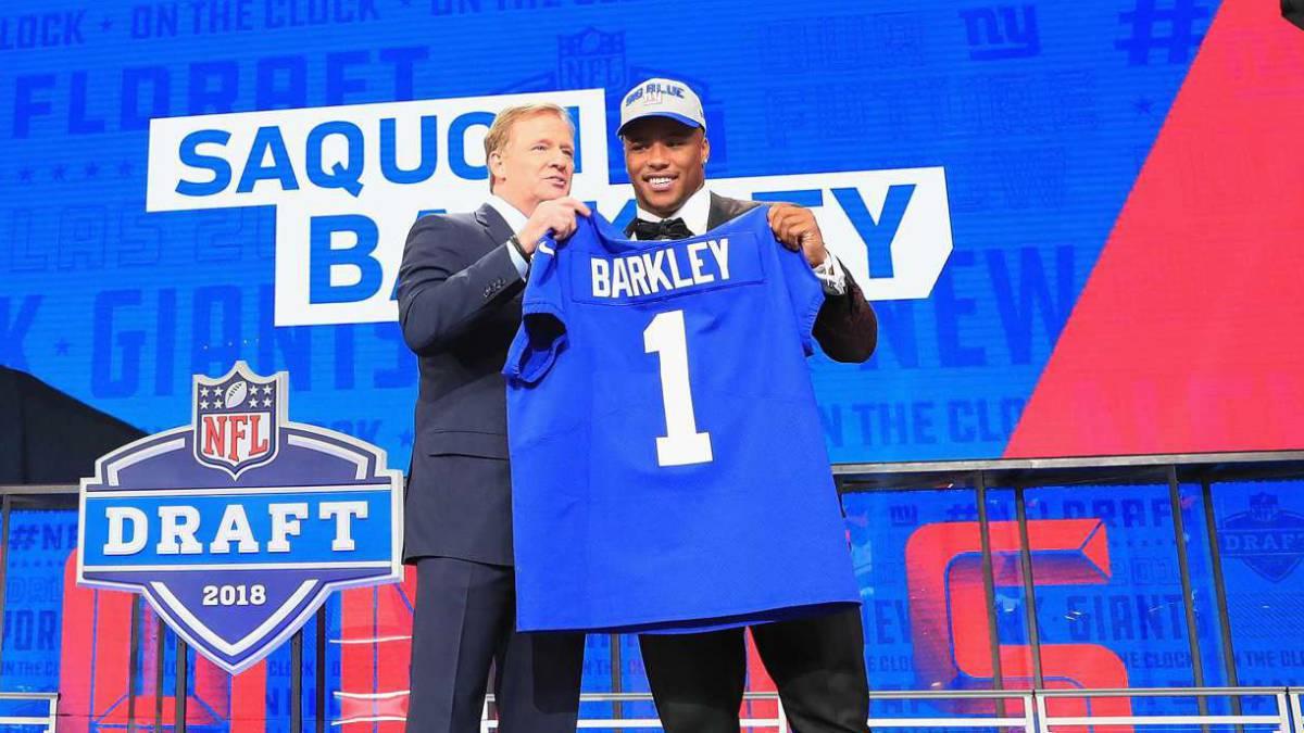 Saquon Barkley rompe récord de jerseys vendidos tras Draft - AS USA 3120183e0d2