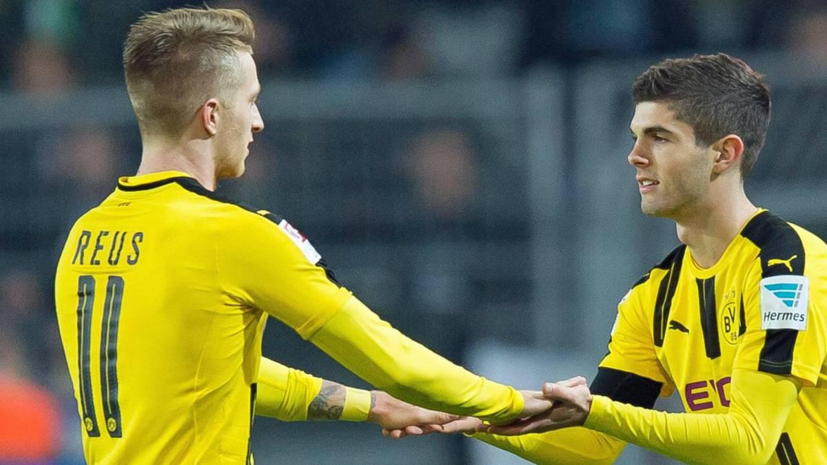 Marco Reus desea que Pulisic se quede en el Borussia Dortmund - AS USA