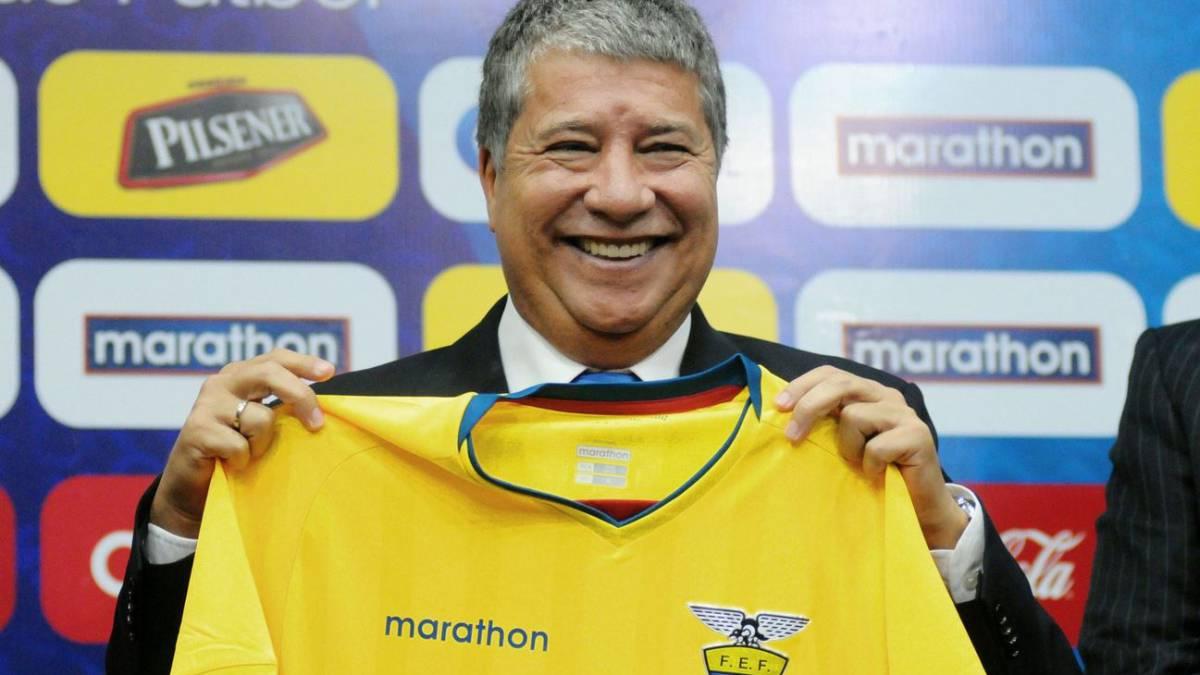 Bolillo Gómez. Ecuador. Copa América