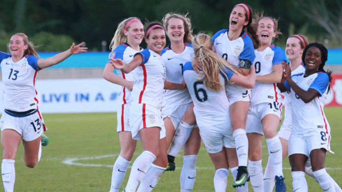Selección Femenil de USA  A debutar en Mundial Sub-20 - AS USA 739175351fec9