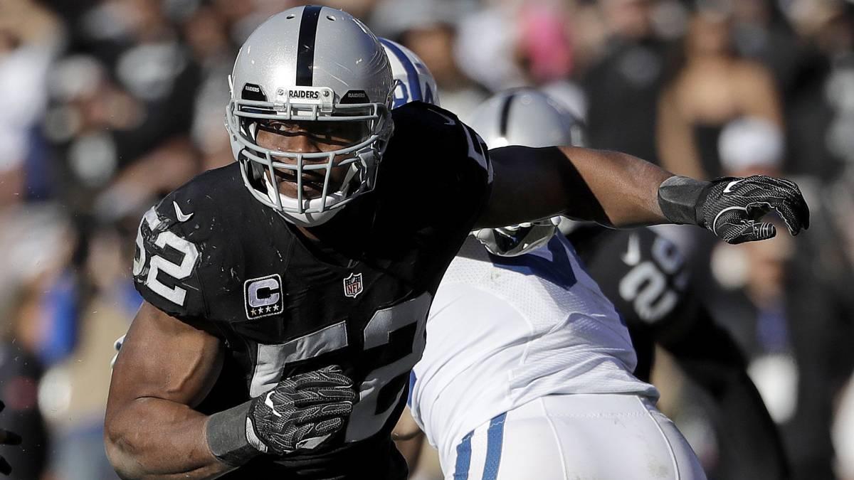 Khalil Mack, un 'Oso' que ya no es 'Maloso' en la NFL