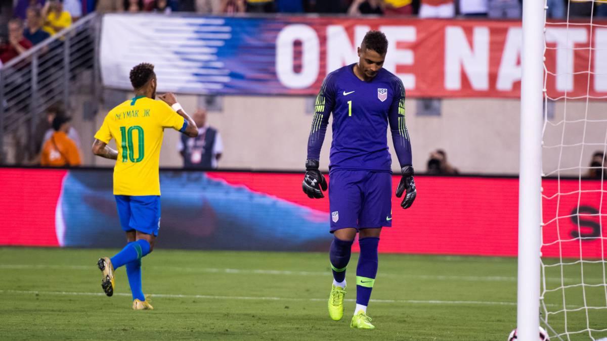 Brasil se despachó con una goleada sobre El Salvador - Somos Deporte