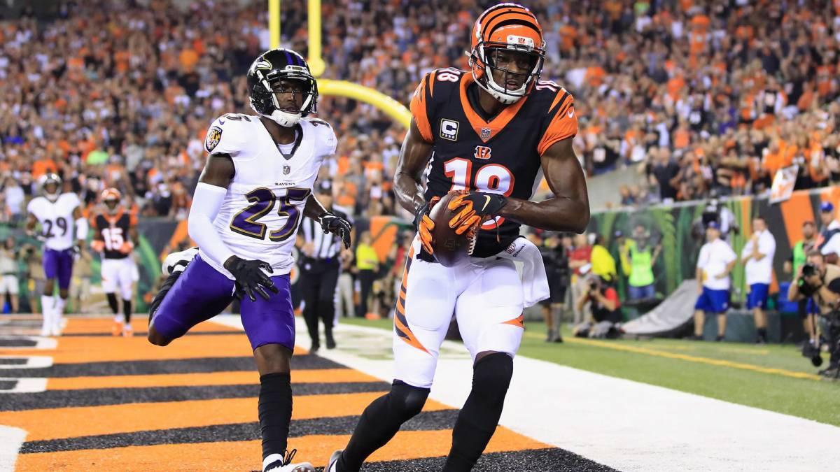 Los Bengals chocan con los Ravens