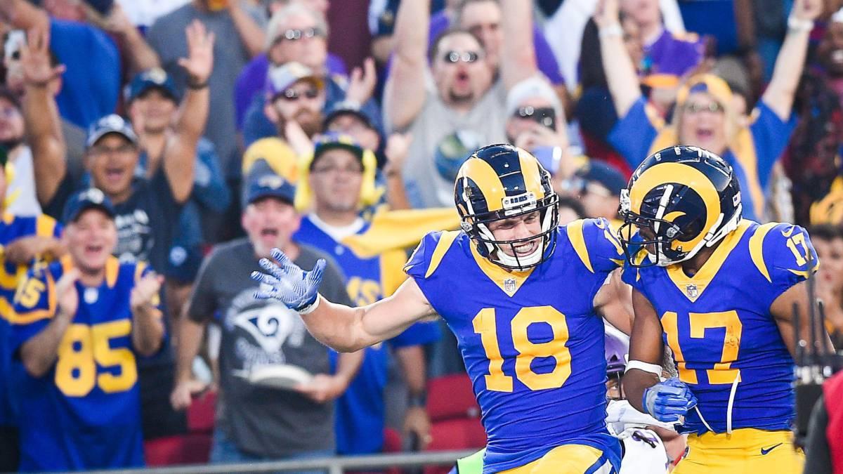 Rams vencen a Vikings y mantienen el paso perfecto en la NFL