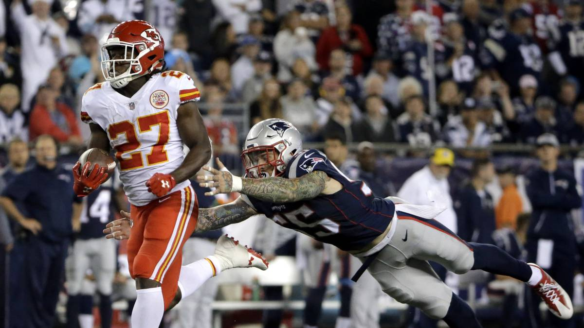 Los Patriots le quitan el invicto a Kansas City