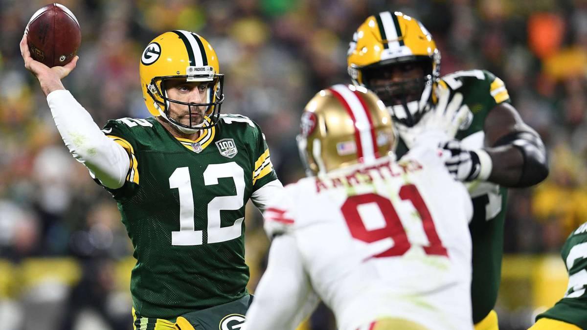 Packers sufren pero vencen a los 49ers