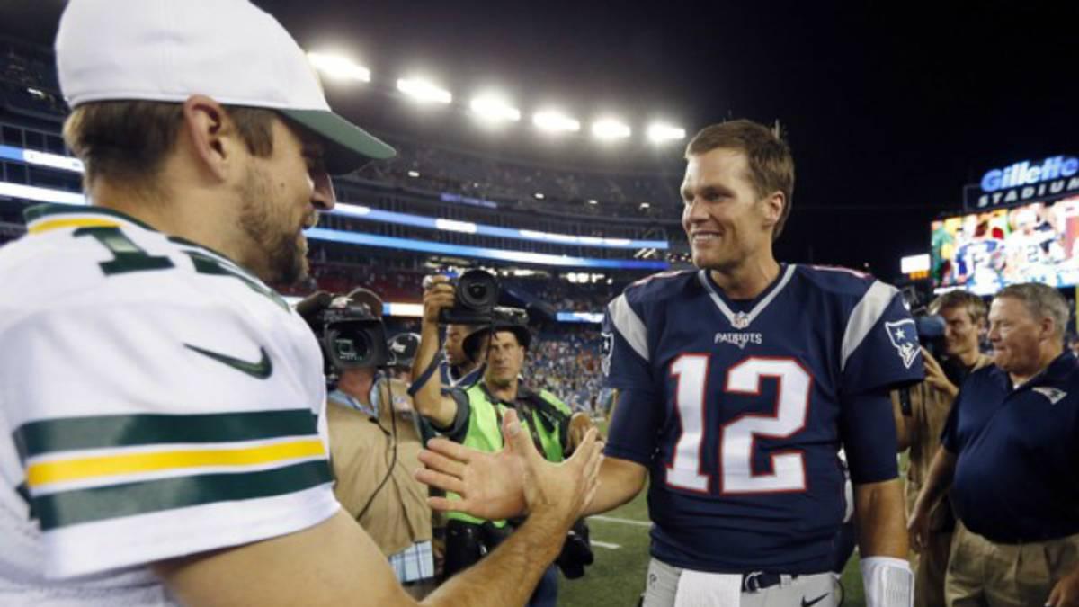 Tom Brady y Patriots vencen a los Packers de Aaron Rodgers — NFL