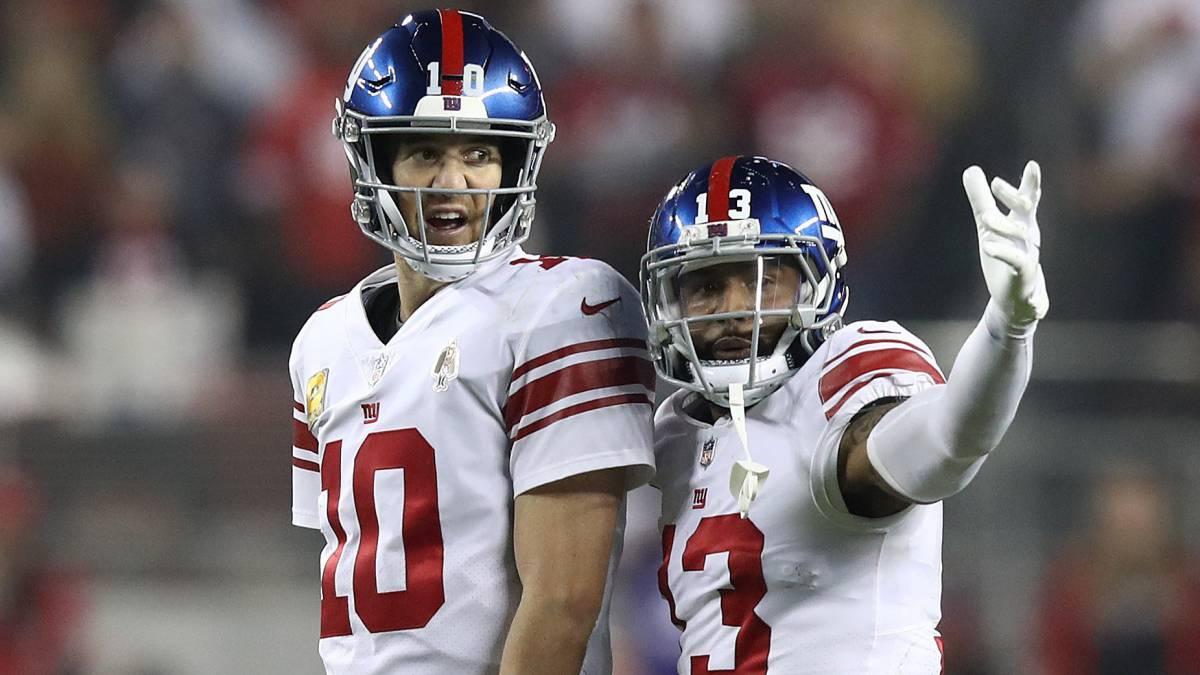 Eli Manning y Odell Beckham Jr. lideran la victoria de NY Giants