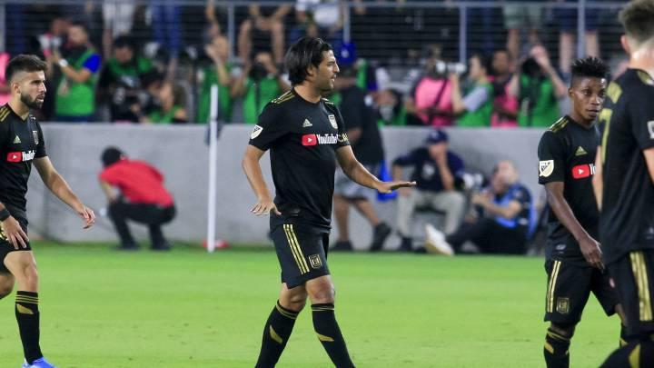 Carlos Vela anotó su primer gol a un equipo mexicano