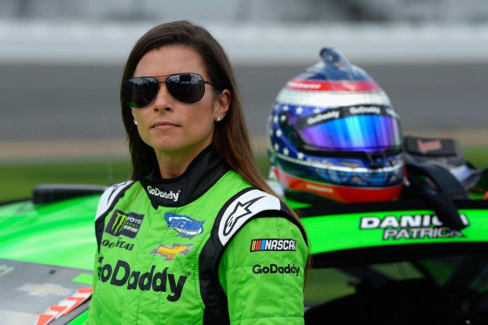 Danica Patrick en carrera de Indycar