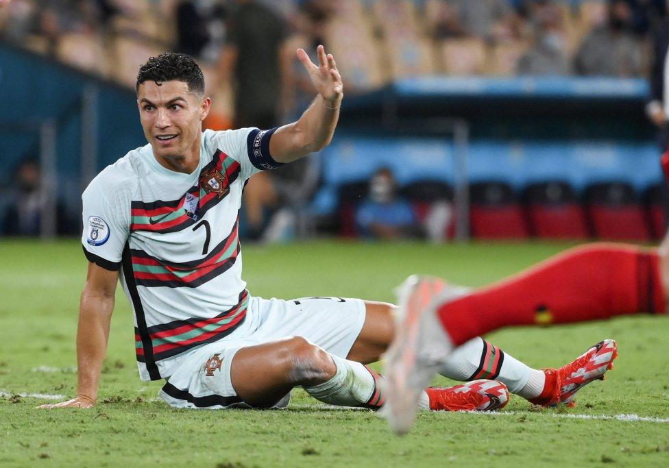 La noche de este viernes Cristiano Ronaldo se despidió oficialmente de la Eurocopa, tras la derrota de Portugal ante Bélgica en el Estadio La Cartuja de Sevilla.