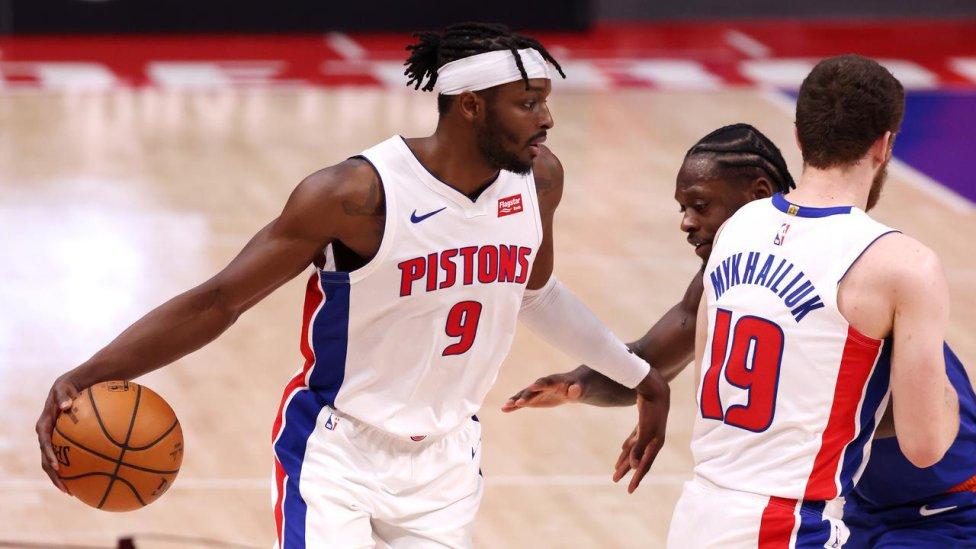 Jerami Grant con los Pistons