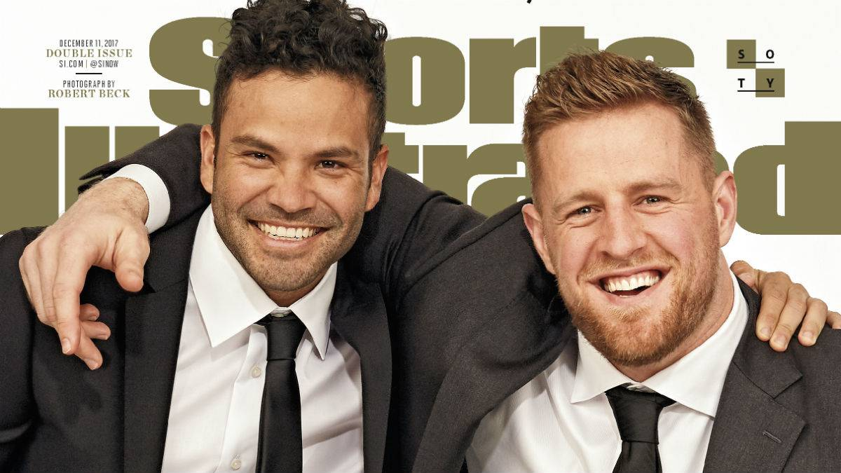 JJ Watt, José Altuve, Sportspersons del Año de Sports Illustrated