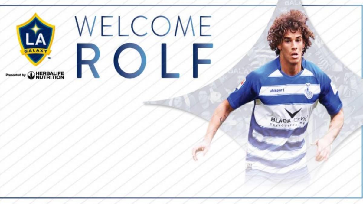 Galaxy ficha al venezolano Rolf Feltscher — MLS
