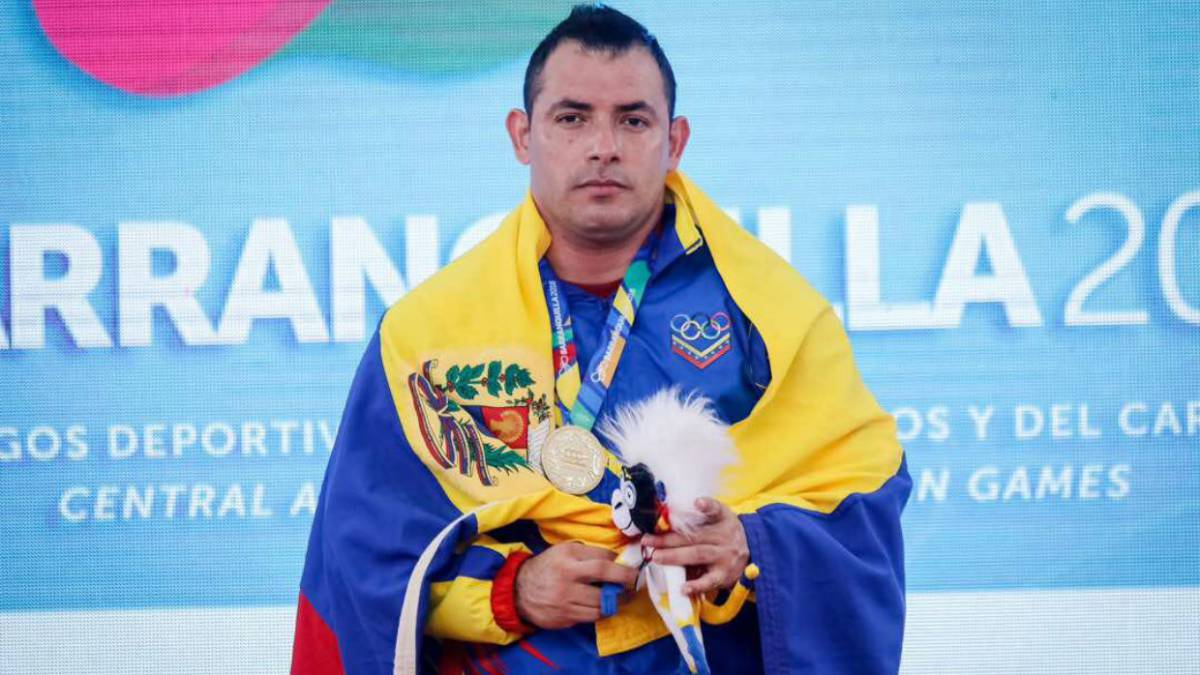 Jesús González en pesas consiguió dos de oro para Venezuela