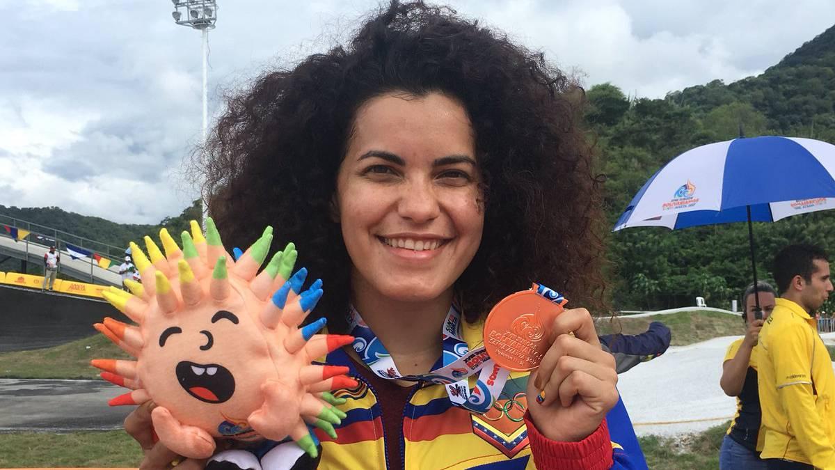 Ciclista Milano se colgó el oro en BMX de Centroamericanos
