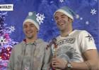 Negredo y Navas y su peculiar manera de felicitar la Navidad