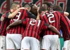 Balotelli tira del Milán y Kaká se marchó lesionado
