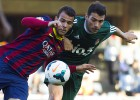 Sandro Ramírez consigue de penalti la victoria del Barça B