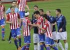 El Sporting salva un punto con un penalti dudoso