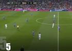 La nueva táctica del Real Madrid: el show del pase largo