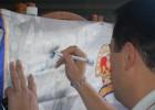 Peña Cantera Blanca: Firma de camisetas en la Peña.