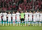 Minuto de silencio en el Allianz por Vilanova y Boskov