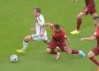Discutido penalti el que se pitó sobre Götze que fue el 1-0